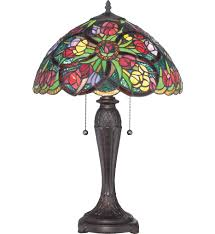tiffany stained glass lamp. Quoizel - TF1868T Tiffany 24.5 Inch Table Lamp Stained Glass