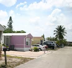 mobile home park