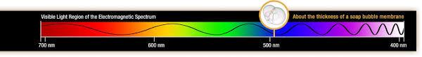 electromagnetic spectrum visible light. illustration of a visible wave on the electromagnetic spectrum light s