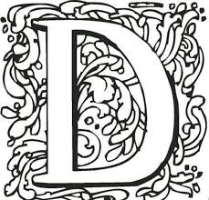 Small Picture D Colouring Pages D For Dice Printable Alphabet Coloring Pages