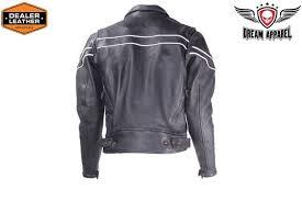 men s heavy duty leather motorcycle jacket
