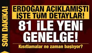 Son dakika: Erdoğan açıklamıştı işte detaylar! İçişleri Bakanlığı'ndan 81 ile genelge - GÜNCEL Haberleri, Haber7