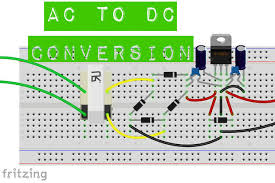 ac to dc conversion 3 steps ac to dc conversion