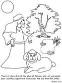 Each preschool coloring activity provides numerous types of coloring sheets that helps to identify. Abram And Lot Coloring Pages