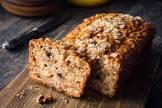 apple nut loaf bread