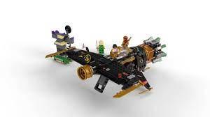 LEGO 71736 Ninjago Coles Rockbreaker Aeroplane Toy with Prison and  Collectable Figure of the Golden Ninja Kai: Amazon.de: Spielzeug