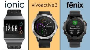 Fitbit Garmin Comparison Chart Fitbit Ionic Vs Garmin Vivoactive 3 Vs Garmin Fenix 5 Rizknows