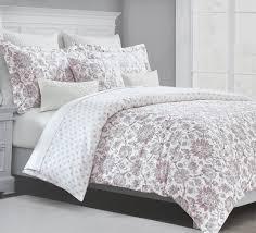 com tahari home vintage damask ornate scroll luxury duvet cover 3 piece bedding