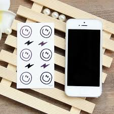 Wholesale Waterproof Temporary Tattoo Gd Smile Face Tattoo 1056cm