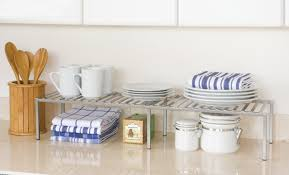 Kitchen Countertop Storage Amazoncom Seville Classics Expandable Kitchen Counter And