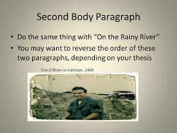 "developing your ""moral courage"" essay ppt video online  second body paragraph do the same thing on the rainy river"