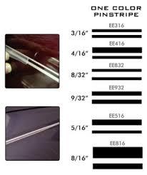 3m Stripe Chart One Color Pinstripe 9 32