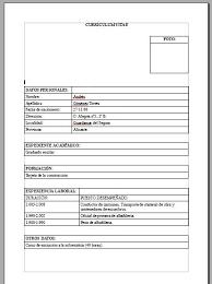 Descargar Curriculum Vitae Para Rellenar I Started