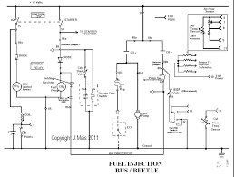 speedy jim s home page aircooled electrical hints schematic of fuel injection system 75 79 type i and type ii