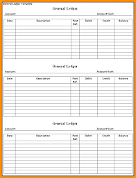 Accounting General Ledger Template Accounts Receivable Ledger Template General T Example Shiftevents Co