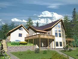 house plans modern mountain home frame