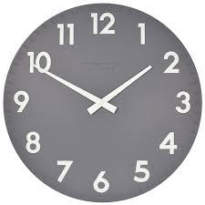 Small Picture Large Black Wall Clocks Uk Minimalist Designer Kitchen Wall Clocks