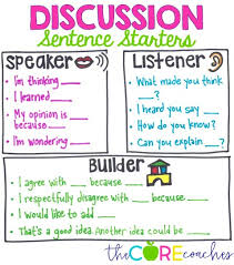Accountable Talk Anchor Chart Discussion Strategies And Accountable Talk In The Classroom