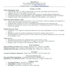 Resume Objective Section Sample Warehouse Resume Skills Examples Warehouse Resume Examples ...