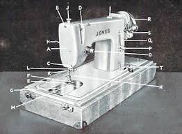 Jones Sewing Machine Manual