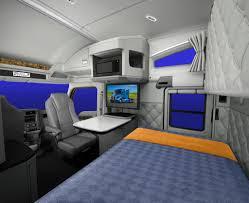 kenworth trucks interior. a swivel passenger seat contributes to more livable interior kenworth trucks n