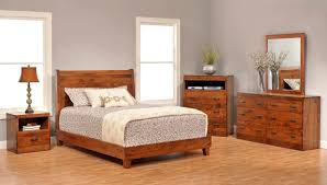 Solid Cherry Bedroom Furniture Sets Wicker Sleigh Bed
