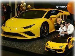 รวยไม่หยุด ดีเจเพชรจ้า ถอย Lamborghini สีเหลืองอีกคัน  และคันจิ๋วให้น้องไทก้าอีกด้วย - MotorLism -> เว็บยานยนต์ อัพเดทข่าวรถยนต์  ข่าวสารรถยนต์ ความรู้ รถใหม่ รถหรู ซูเปอร์คาร์ ทั้งในและต่างประเทศ
