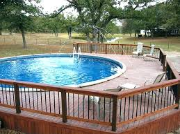 intex above ground pool decks. Plain Intex 24 Foot Pool Round Liner Replacement How To Build Freestanding  Deck Step Above Ground And Intex Above Ground Pool Decks