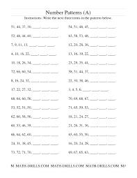 Arithmetic Sequence Worksheet Answers Geometric And Arithmetic Sequence Worksheet Math Sequencing