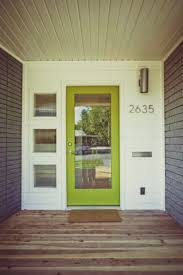 mid century modern front doors. Uncategorized Mid Century Modern Front Door Inspiring Pinned For The Exterior Colors But Interior Is Lovely Too Image Of Doors O