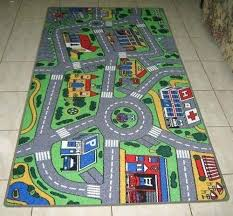 roads play mat details about new city road car track kids rug childrens