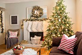 christmas living room decorating ideas. Perfect Christmas Nice Decoration Christmas Living Room Decor 15 Simple Decorating Ideas For  Youne On