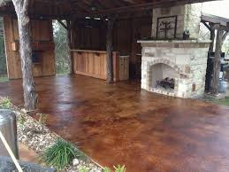 stained concrete patio pictures astonishing stained concrete patio before and after best how to lay a