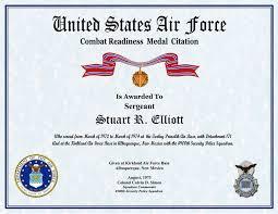 Sample Certificate Of Appreciation Fascinating Sample Certificate Of Appreciation For Officers New Air Force
