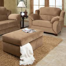 Large Chairs For Living Room England Geoff Extra Large Cozy Chair 1 2 And Ottoman With Casual