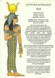 Egyptian Astrology What Your Egyptian Zodiac Sign Says