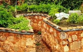 how to make a raised vegetable garden. Stone Raised Gardens How To Make A Vegetable Garden