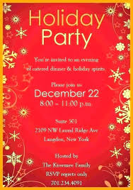 Holiday Dinner Invitation Template Dinner Invitations Templates Party Invite Template Word Free