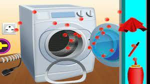 WASHING MACHINE REPAIR GAME!! çamaşır makinası tamir etme oyunu !!!! -  YouTube