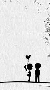 cute sweet love little couple iphone 8