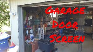 garage screen doorJobars Instant Garage Screen DoorDouble  Harbor Frieght  YouTube