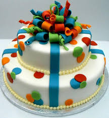Fancy Cakes Gift Ribbons Design Cake Retailer From Hyderabad
