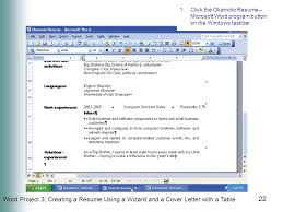 How To Type A Resume On Microsoft Word S Word Resume Templates