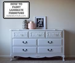 painting laminate furniturePainting Laminate Furniture DIY Tutorial  Lily Field Co