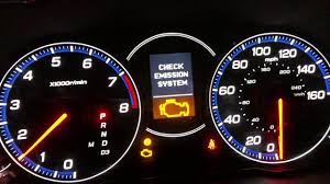 Acura Tl Check Emission System Light 2006 Acura Tsx Check Engine Light Rough Idle Youtube