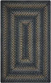 raven grey gold jute braided rugs and rug uk