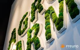 preserved green wall modular panel indoor