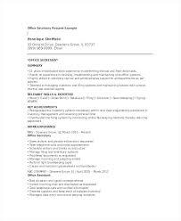 Secretary Resume Template Cv Uk