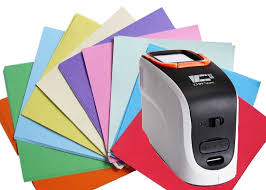 Xenon Lamp Sensor Portable Color Spectrophotometer 20000 Test