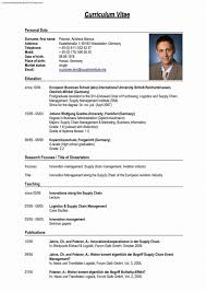 Temple Resume Format Resume Template Word Professional Resume German